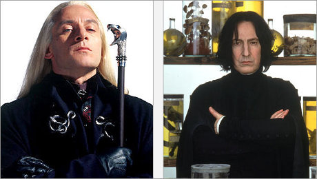 Snape یا Lucius. Im straight but I would actually do Bellatrix.