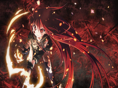 the of the best that i know is shana her hair is long and red even her eyes are red huh cool!