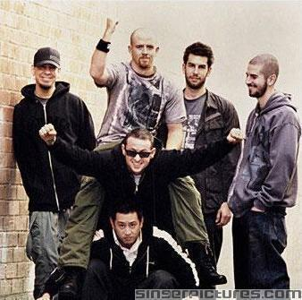 Chester Bennington(or chazzy chaz :p) lead vocalist (with great voice)