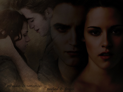 This is one of many Bella and Edward pics I have <3
