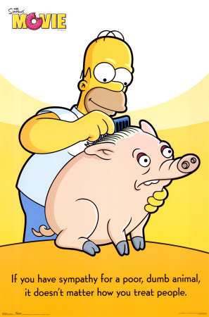 i am not sure but i definetly laughed whith the simpsons movie