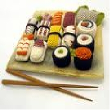 make sushi appear anytime door saying i'm hungry. I'm hungry SUSHI! nom nom nom