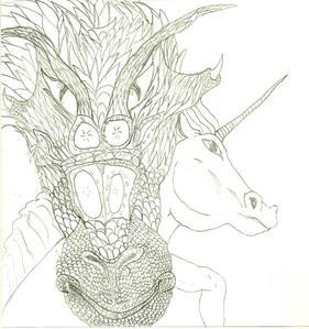 sure!!! i needz madami props...look, a dragon! and a unicorn! i drew these...u like?