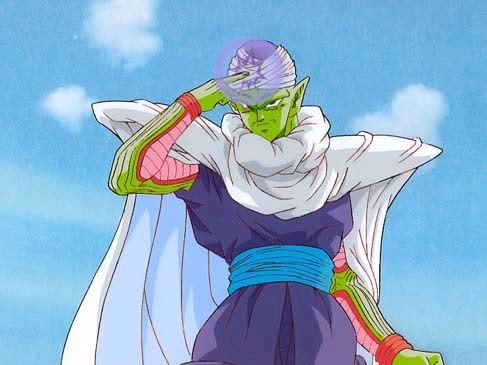 I'd like to meet Piccolo from Dragonball Z! (because he's cool and my segundo favorito! dbz character!)