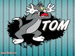 Tom from tom and jerry he makes me laugh.
