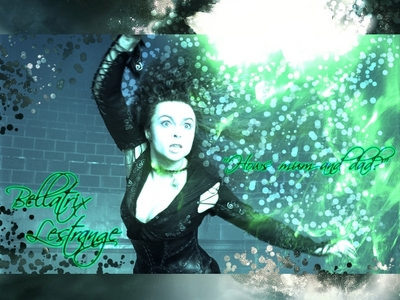 Bellatrix Lestrange, she is phyco, funny, unique, and pretty. Luna is also pretty cool au Tonks.