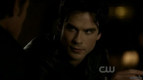 I want to hug Damon!! He needs to be shown a bit of amor now and then..