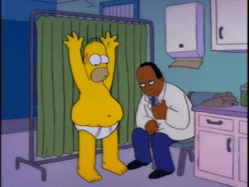 Homer Simpson Dirty Bulking
