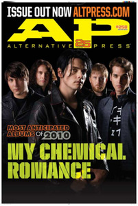 Anyone else get the AP magazine with MCR on it? o the single ones?