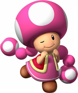 who are your parte superior, arriba 5 charcter in mario kart wii toadette is my best character