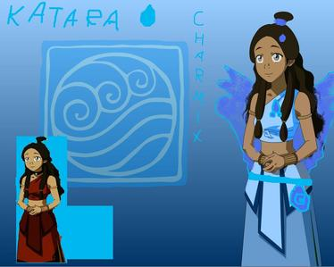 hi,it's my gintareka I got in my sistr फैन्पॉप so I cud creat a chater for CyD12 ff Name: Katara age: 15 power: whater,blood bio: her mother daid when bad guys arivert to her town.she allways rimember her mother whit a nekles personality: good,funny,smart. something else?: she dislaiks to control blood but if it's big truble she will use it. and a picture: