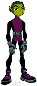 Name:Beast Boy age:12 power:He can transform into any animal of any kind but all his forms are green bio:Lives on Earth.When hes not playing video games या on a mission he hangs out a lot with Terra. personality:Funny,Kind and sweet something else?:He's totally crushing on Terra!