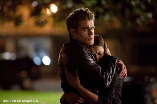 Definately Stefan (Paul Wesley) ♥ If I got to choose two ? Then Damon (Ian Somerhalder) too :D