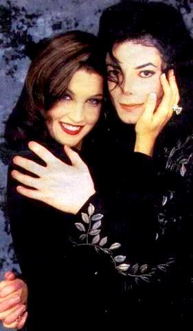 i respect Lisa Marie because michael loved her very much, and they were STILL IN TOUCH after that interview i have a picture of them together in late '05. and before he died, he had a picture of lisa marie in his room. shes a sweet,genuine person and who doesnt talk about their exes,?