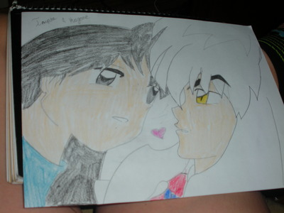 1. Inuyasha!! <3 2. GIR <3 3. Alejandro {new character in TDWT} 4. Duncan 5. L {from Death note} <3 I drew the pic