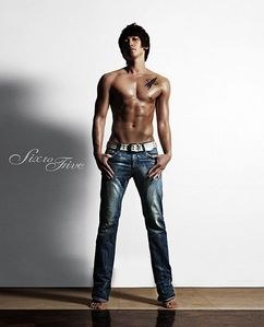 one of my new one's is korean pop singer Bi Rain. just look at those abs. <33333 saranghae Rain. *fans self*