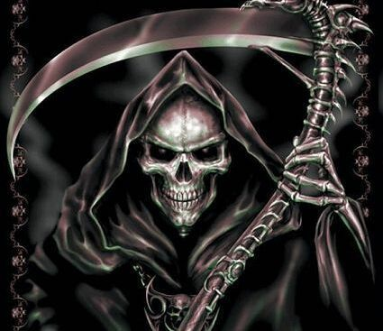 Yep. I often think that I'm the Grim Reaper and have come to kill myself. ... Not really. I lied. Sorry.
