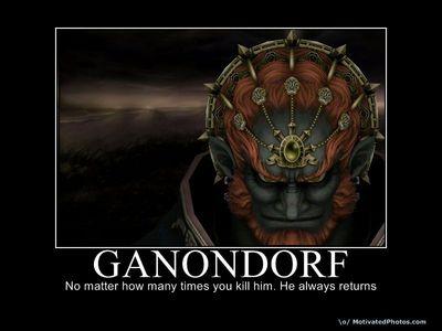 GANONDORF! G-A-N-O-N-D-O-R-F!!! GANON!