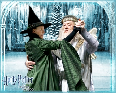 Dumbledore & McGonnagall. Call me weird, but it's no weirder then all the other non-canon couples :)