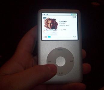 ipod Classic. :) hehe.