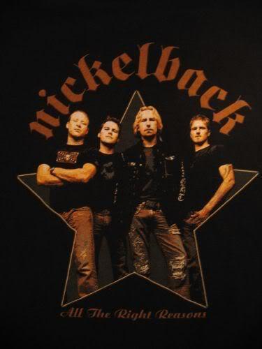 Nickelback...4ever...