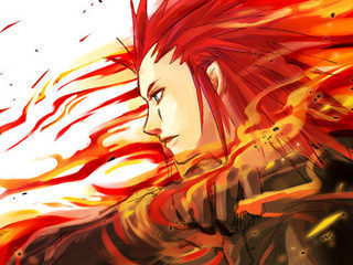 Axel!! Btw, he's a video game character this is just a Fan art ^^