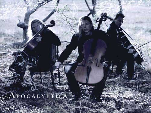 I really don't have a specific one... I change every while... maybe the one actually could be Apocalyptica