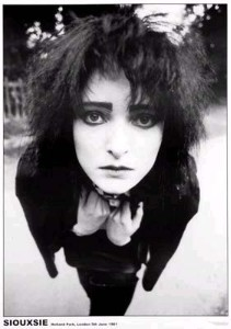 I dunno... Siouxsie Sioux?