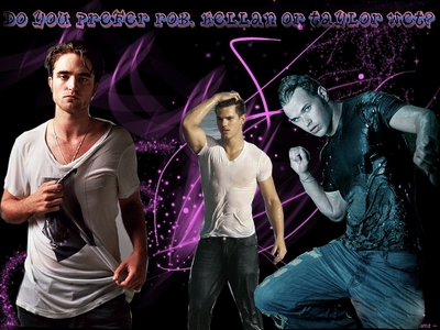 I am team Jacob but it would be Emmett because his my preferito cullen Edwards my 2nd fav