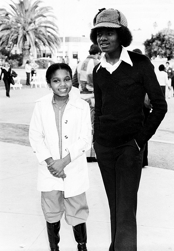 I hate choosing between any member of the jackson family. There all just so nice,kind ,friendly and very talented!. Janet reminds me so much of Michael zaidi than the rest though,they were just so close to each other. I remember when many people thought they were the same person:D