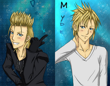 I say Demyx because he's such a sweet heart..(ironic) I'd wanna be his friend... または もっと見る >.> lol xD