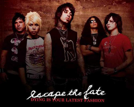 One of my favs ESCAPE THE FATE!!!!!!!