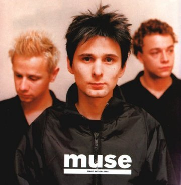 Muse is cute. . . . . . .from left to right: Dominic Howard, Matthew Bellamy, Chris Wolstenholme.