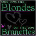 IMO i think that there r just as many dumb blondes as there r dumb brunettes .. i guess i should say that there r just some dumb ppl in life n to label them hoặc single them out is just plain stupid!! but being a brunette myself i gotta say this LOL – Liên minh huyền thoại ...