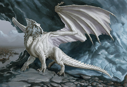I think of 2 things.. first, FIRE!!! haha.. then The White Dragon. i love him he is sooo majestic n pretty!
