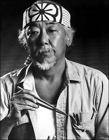 My Aunt on my mother's side (not blood-related) was a niece of Pat Morita.