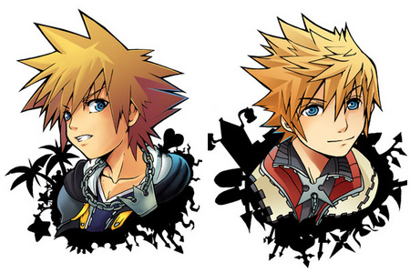 I like them both... but, still... Roxas is cooler!