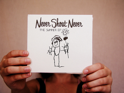 Never Shout Never :)