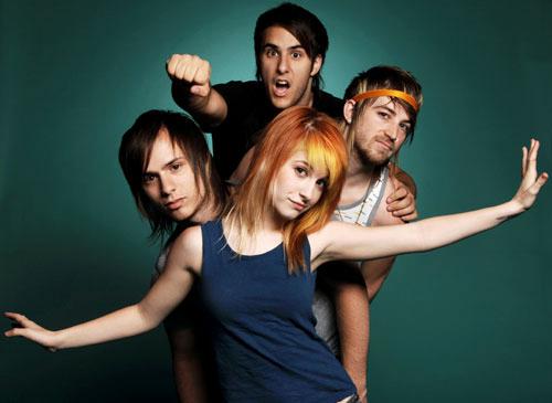 I like Paramore & NeverShoutNever! Hehe(: