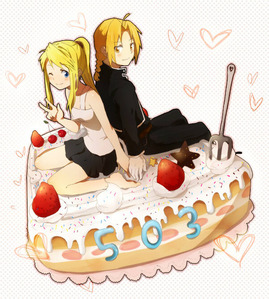 i find this cute X3 EDxWINRY FOREVAH!!!! XD