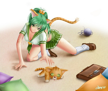 the reason i like animê girls is because real girls cant have real cat ears nya. (=^_^=)