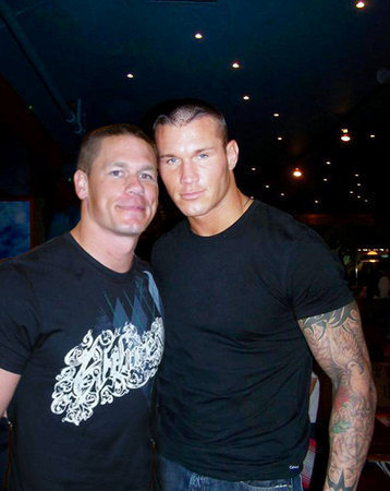 pictures of john cena and randy orton. John Cena and Randy Orton are
