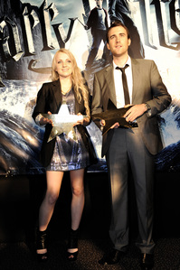 Luneville. Say what Du will but I Liebe them. =D Plus Matthew and Evanna look really good together. :)
