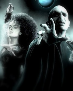 Voldmort and Bellatrix