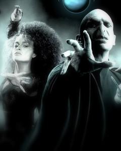 Voldmort and Bellatrix