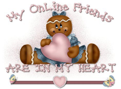 I have too many wonderful Friends to mention here!!! I would be afraid I might miss one :)
