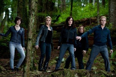 All the cullens ? Well exsept Edward