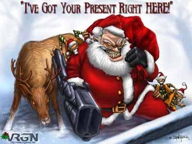 I'm Santa Claus! :D :D