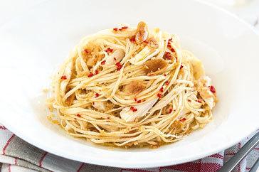 malaikat hair pasta.