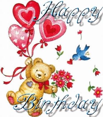 Happy birthday hon. Enjoy your special day. आप deserve it ^_^